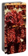 New Mexico Red Chili Ristra And Gralic Portable Battery Charger