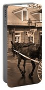 New Orleans - Bourbon Street Horse 3 Portable Battery Charger