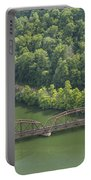 New River Scene 17 Portable Battery Charger