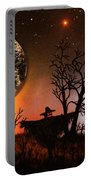 Night Of The Scarecrow  Portable Battery Charger