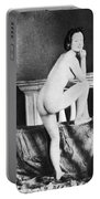 Nude Posing, C1850 Portable Battery Charger