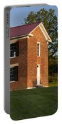 Old Schoolhouse Portable Battery Charger by Brian Jannsen