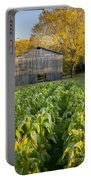 Old Tobacco Barn Portable Battery Charger by Brian Jannsen