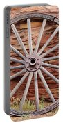 Old Wagon Wheel 2 Portable Battery Charger