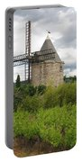 Old Windmill Portable Battery Charger