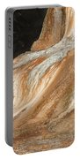 Orange Spring Mound At Mammoth Hot Springs Portable Battery Charger