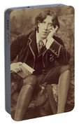 Oscar Wilde 1882 Portable Battery Charger