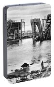 Panama Canal French Work Portable Battery Charger