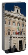 Parliament Building Rome Portable Battery Charger