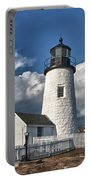Pemaquid Point Lighthouse 4897 Portable Battery Charger