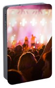 People On Music Concert Portable Battery Charger