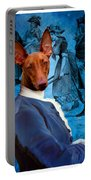 Pharaoh Hound Art Canvas Print Portable Battery Charger