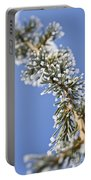 Pine Tree Branch Portable Battery Charger