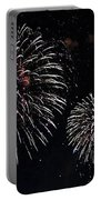 Pink Fireworks Portable Battery Charger