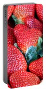 Plant City Strawberries Portable Battery Charger