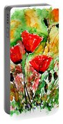 Poppy Lawn Portable Battery Charger