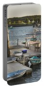 Port Clyde Maine Boats And Harbor Portable Battery Charger