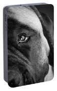 Portrait Of A Mastiff Portable Battery Charger