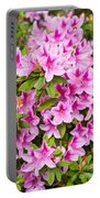 Pretty In Pink - Spring Flowers In Bloom. Portable Battery Charger