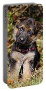 Pretty Puppy Portable Battery Charger by Sandy Keeton