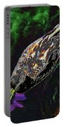 Psychedelic Mallard Duck 1 Portable Battery Charger