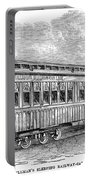 Pullman Car, 1869 Portable Battery Charger