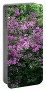 Purple Azaleas Portable Battery Charger