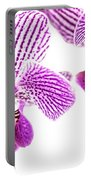 Purple Orchid-5 Portable Battery Charger