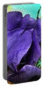 Purple Perfume  Portable Battery Charger