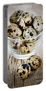 Quail Eggs Portable Battery Charger