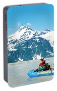 Rafters On The Alsek River Portable Battery Charger