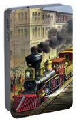 Railroad, 1874 Portable Battery Charger