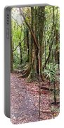 Rain Forest Portable Battery Charger by Les Cunliffe