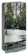 Reflections Of Winter Portable Battery Charger