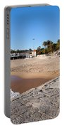 Resort Town Of Estoril In Portugal Portable Battery Charger