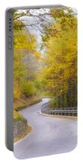Road With Curves Portable Battery Charger