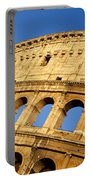 Roman Coliseum Portable Battery Charger by Brian Jannsen