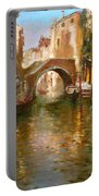 Romance In Venice  Portable Battery Charger