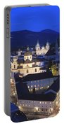 Salzburg At Night Austria  Portable Battery Charger