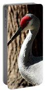 Sandhill Crane Portrait Portable Battery Charger