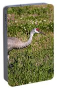 Sandhill Crane Portable Battery Charger