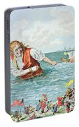 Scene From Gullivers Travels Portable Battery Charger