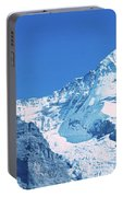 Scenic View Of Eiger And Monch Mountain Portable Battery Charger