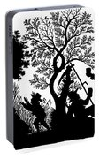Silhouette Daily Life Portable Battery Charger
