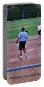 Softball Game Portable Battery Charger
