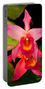 Sophronitis Orchid Portable Battery Charger