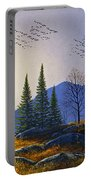 Southern Migration By Moonlight Portable Battery Charger