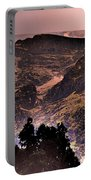 Starry Night Landscape Portable Battery Charger