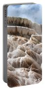 Steamy Mammoth Hot Springs Portable Battery Charger