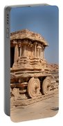 Stone Chariot At Vittala Temple  Portable Battery Charger